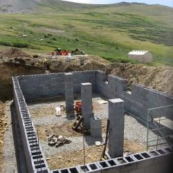 Basement Walls Complete