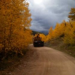 Boom Truck's Last Trip Down