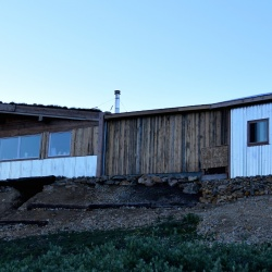 Front of the Hut