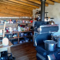 Cookstove and Kitchen